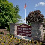 Sunnieside Landscaping sign outside office