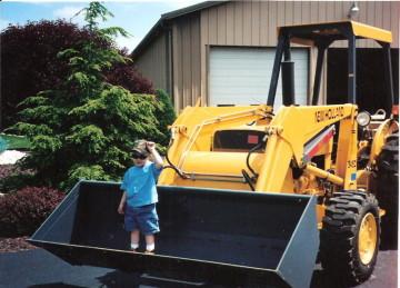 excavating machinery