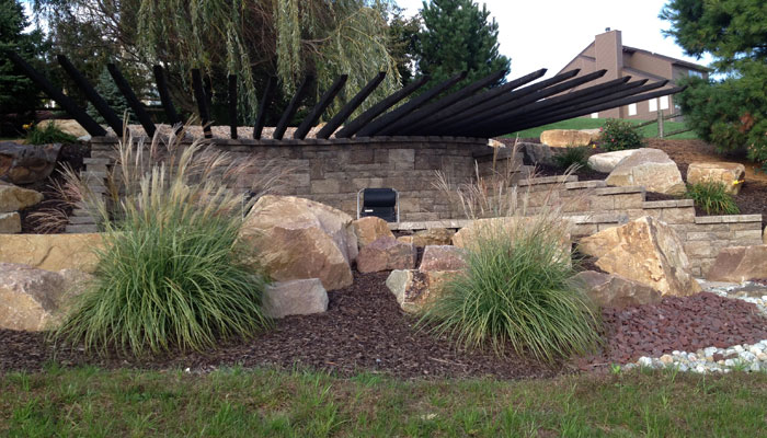 landscape rock design