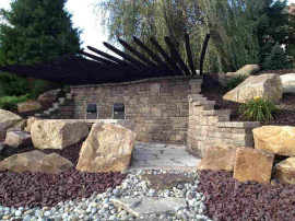 Hardscaping installation for home in Bethlehem PA